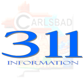 Carlsbad 311 Logo