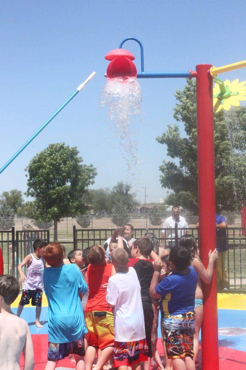 Splash Pad at Youth Sports Complex