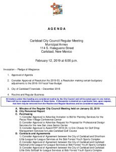 Icon of 02-12-19 Agenda Packet