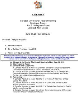 Icon of 06-26-19 City Council Agenda