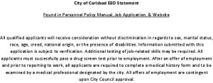 Icon of EEO Statement