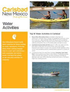 Icon of Carlsbad Itinerary Water Activities Web