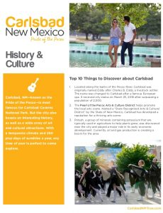 Icon of Carlsbad Itinerary History And Culture Web