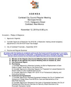 Icon of 11-12-19 CC Agenda Packet