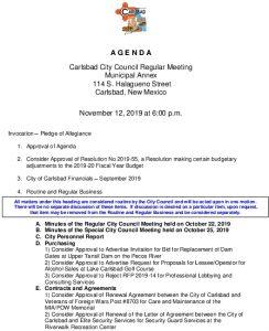 Icon of 11-12-19 CC Agenda Packet