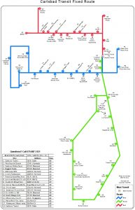 Icon of Fixed Route Map Blue