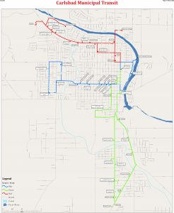 Icon of Large (Service Area) Transit Map