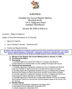 Icon of 01-28-20 CC Agenda Packet