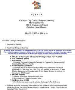 Icon of 05-12-20 CC Agenda Packet