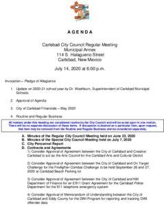 Icon of 07-14-20 CC Agenda Packet