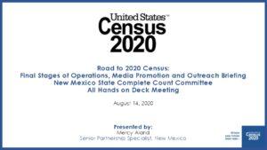 Icon of 2020 Census Update SCCC August 14 2020