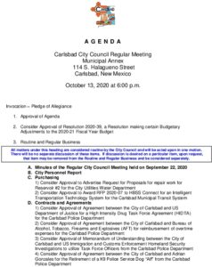 Icon of 10-13-20 CC Agenda Packet