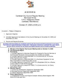 Icon of 10-27-20 CC Agenda Packet