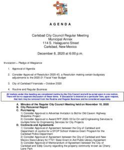 Icon of 12-08-20 CC Agenda Packet