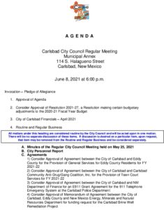 Icon of 06-08-21 City Council Packet