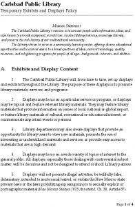 Icon of CPL-Temporary Exhibits And Displays Policy - Aug 2016
