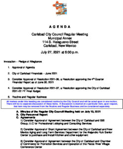 Icon of 07-27-2021 CC Agenda Packet
