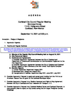 Icon of 09-14-2021 City Council Packet