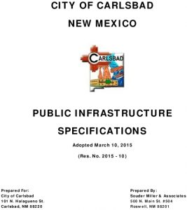 Icon of Infrastructure Specifications - Council Approved Copy - Combined - 3-10-15