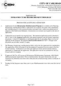 Icon of Application - Infrastructure Reimbursement Program