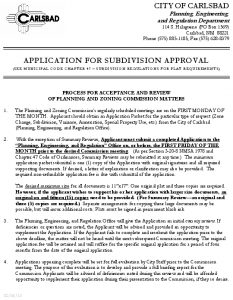 Icon of APPLICATION FOR SUBDIVISION(1)
